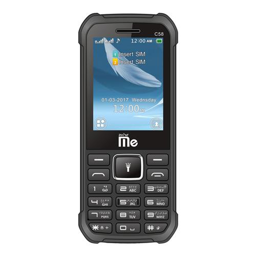 گوشی موبایل جی ال ایکس Zoom me c58 دوسیم کارت