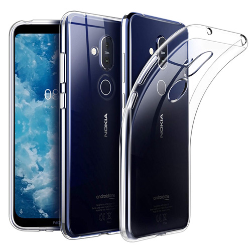 COCO Clear Jelly Case For Nokia 8.1