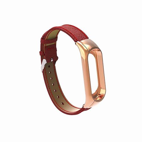 Xiaomi Mi Band 3 Leather Wrist Strap