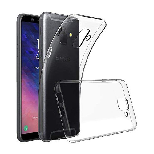 COCO Clear Jelly Case For Samsung Galaxy A6 2018
