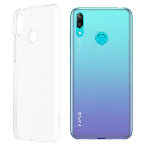 COCO Clear Jelly Case For Huawei Y7 Prime 2019