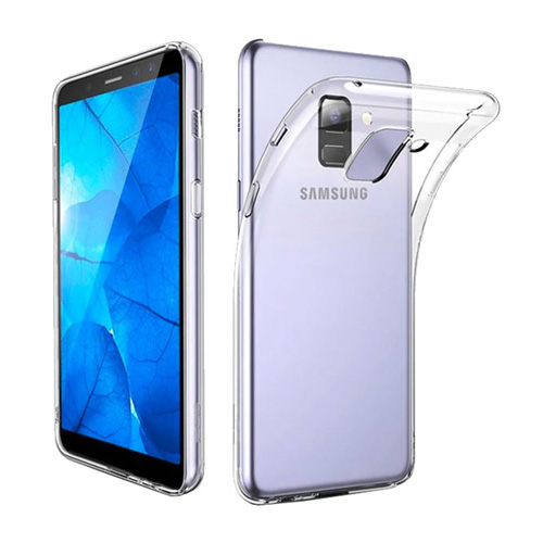 COCO Clear Jelly Case For Samsung Galaxy A8 Plus 2018