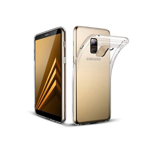 COCO Clear Jelly Case For Samsung Galaxy A8 2018