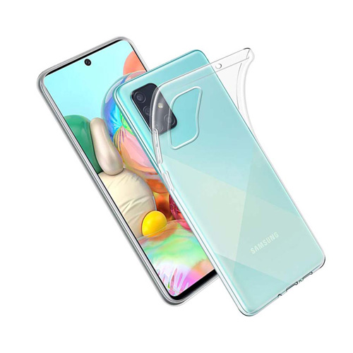 COCO Clear Jelly Case For Samsung Galaxy A71