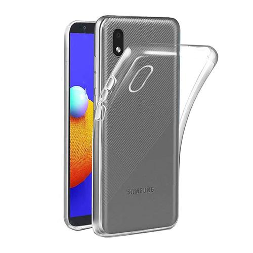 قاب ژله ای شفاف کوکو مناسب برای گوشی سامسونگ مدل Galaxy A01 Core