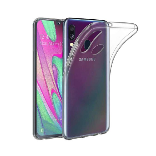 COCO Clear Jelly Case For Samsung Galaxy A40