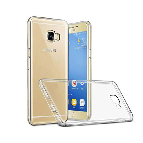 COCO Clear Jelly Case For Samsung Galaxy C7