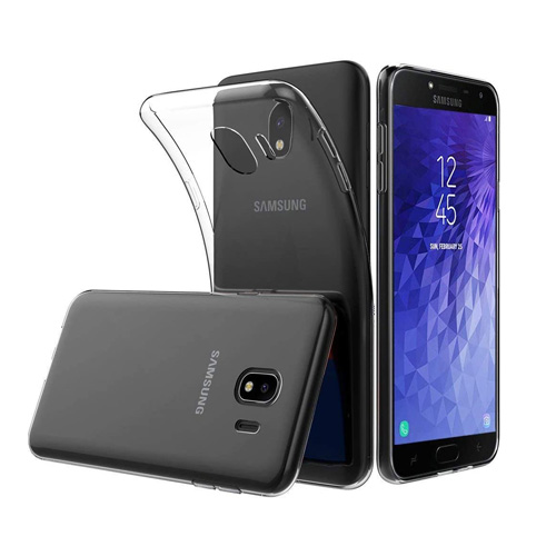 COCO Clear Jelly Case For Samsung Galaxy J4