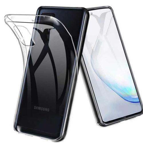 قاب ژله ای شفاف کوکو مناسب برای گوشی سامسونگ مدل Galaxy Note10 Lite