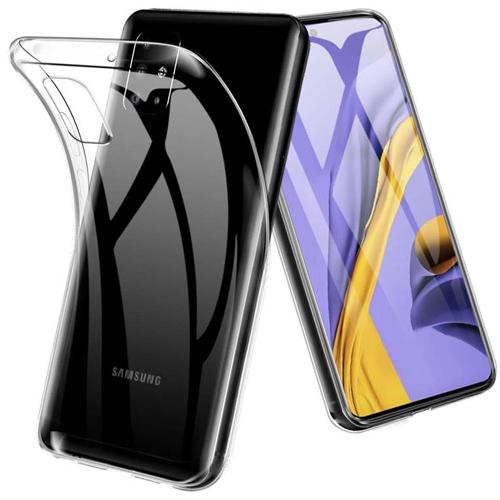 قاب ژله ای شفاف کوکو مناسب برای گوشی سامسونگ مدل Galaxy A51
