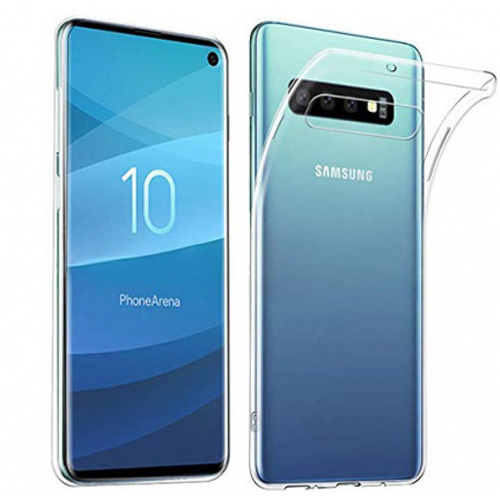 COCO Clear Jelly Case For Samsung Galaxy S10 Plus