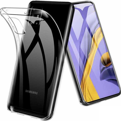 قاب ژله ای شفاف کوکو مناسب برای گوشی سامسونگ مدل Galaxy M51