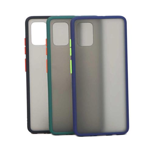Hybrid Simple Matte Bumper Phone Case For Samsung Galaxy A31