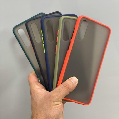Hybrid Simple Matte Bumper Phone Case For Samsung Galaxy A30s