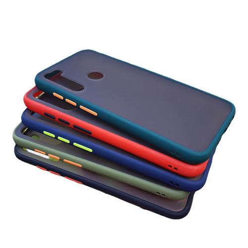 Hybrid Simple Matte Bumper Phone Case For Xiaomi Redmi Note 8