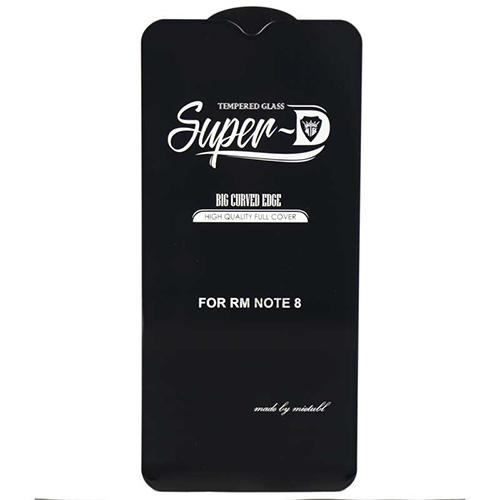محافظ صفحه نمایش super D گوشی شیائومی Redmi Note 8