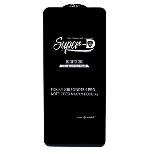 محافظ صفحه نمایش super D گوشی شیائومی Redmi Note 9 Pro Max