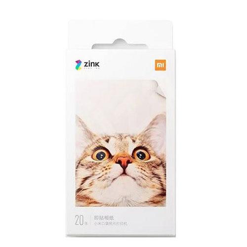 Xiaomi Mi Portable Pocket Photo Printer Paper 20 Sheet