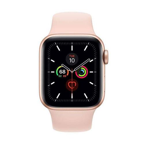 ساعت هوشمند اپل واچ سری 5 مدل 40mm Aluminum Case همراه با بند ورزشی