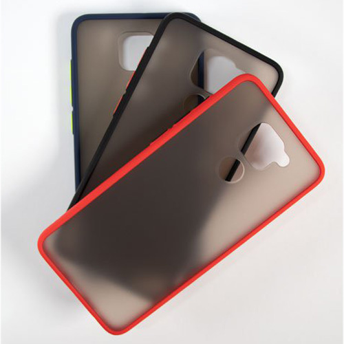 Hybrid Simple Matte Bumper Phone Case For Xiaomi Redmi Note 9