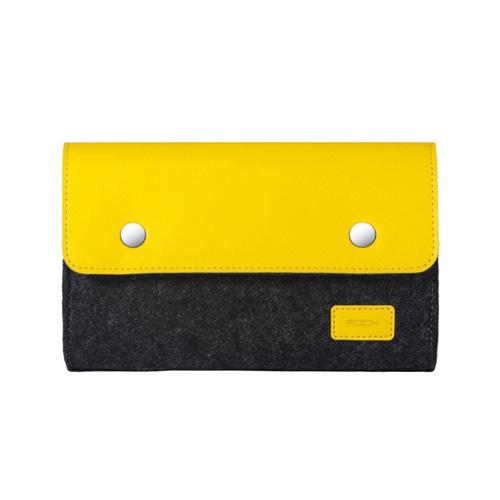 ROCK RST1043 big Wool Felt Digital Gadget Storage Bag