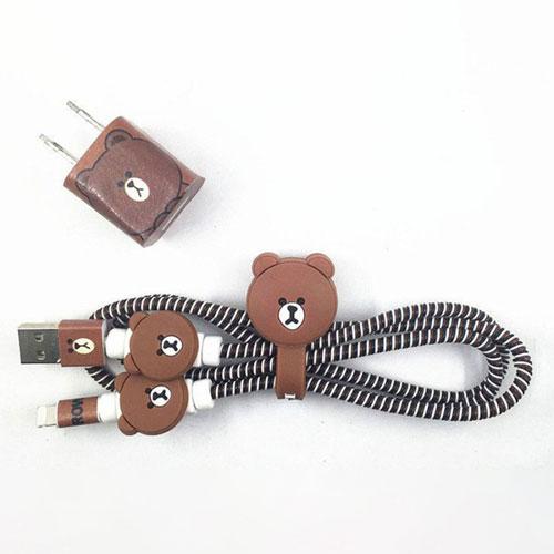 Cover Charger Protector Brown bear