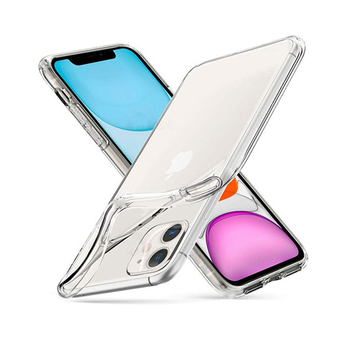 COCO Clear Jelly Case For Apple iPhone 12