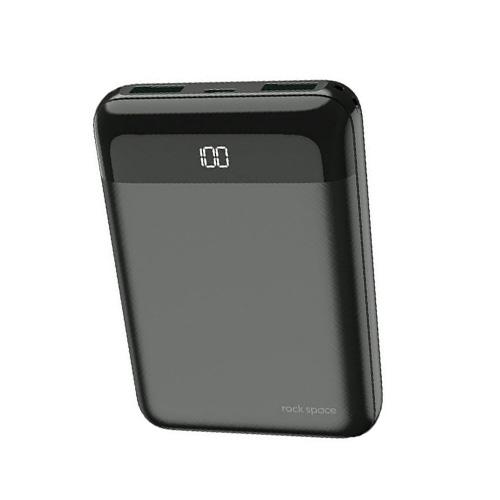 Rockspace P66 mini 10000mAh Digital Display Power Bank