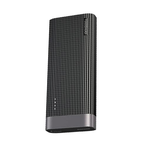 پاور بانک باسئوس مدل Parallel Line Portable Version ظرفیت 10000 میلی آمپر ساعت