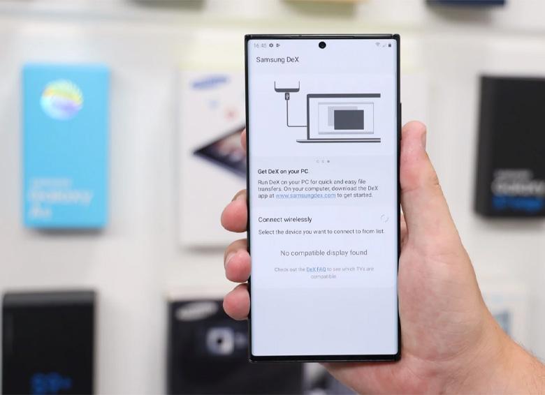 امکان اتصال بیسیم گوشی به کامپیوتر در آپدیت جدید One UI