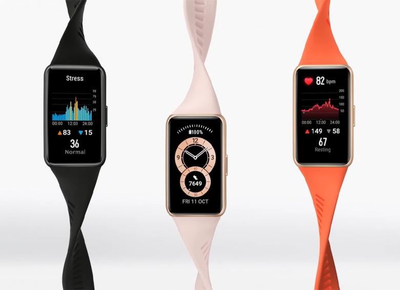 دستبند هوشمند هوآوی بند 6 به صورت رسمی معرفی شد