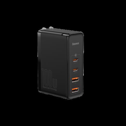آداپتور شارژر دیواری باسئوس مدل GaN2 Pro Quick Charger 2C+2U CCGAN2P-L01 QC4 PD