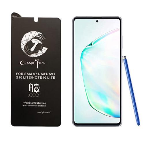 محافظ صفحه نمایش سرامیکی میتوبل مناسب برای گوشی موبایل سامسونگ Galaxy Note10 Lite