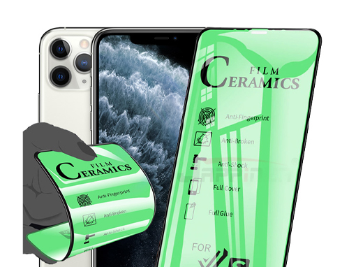 گلس سرامیکی گوشی اپل iPhone 11 Pro مدل تمام صفحه