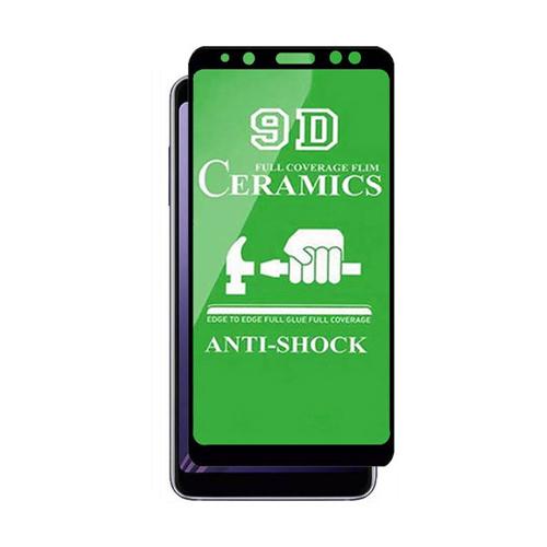 گلس سرامیکی گوشی سامسونگ  Galaxy A8 Plus (2018) مدل تمام صفحه