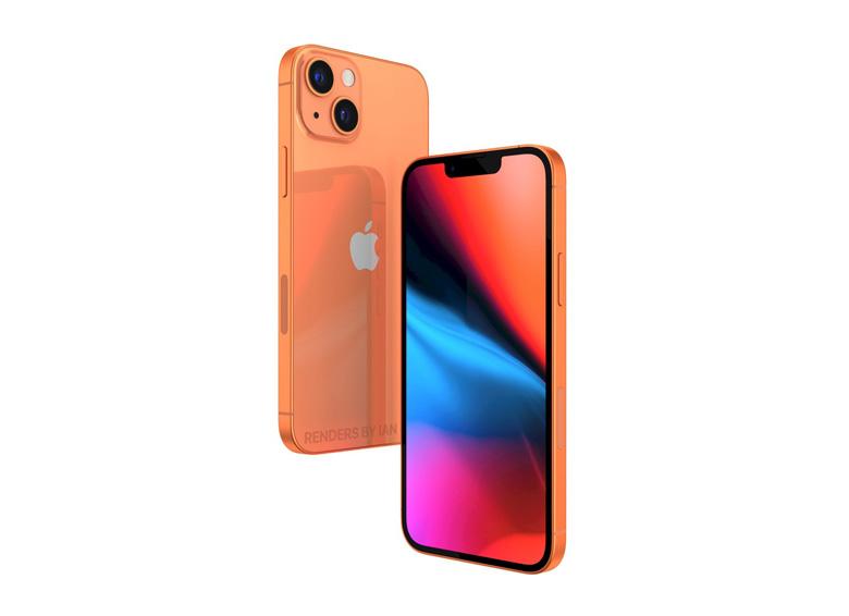 اپل یک رنگ جدید نارنجی به آیفون ۱۳ اضافه میکند