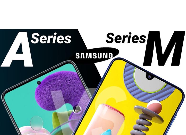 مقایسه گوشیهای موبایل سری A و سری M سامسونگ