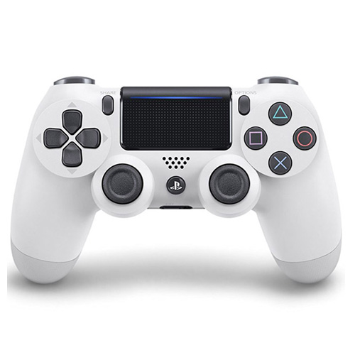 دسته بازی DualShock 4  رنگ سفید سری جدید