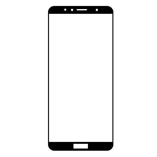 گلس سرامیکی گوشی آنر 7A مدل تمام صفحه