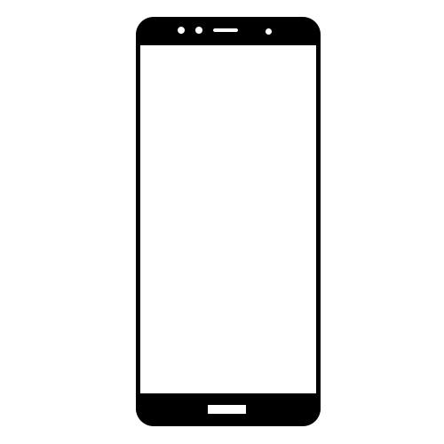گلس سرامیکی گوشی هوآوی Y6 2018 مدل تمام صفحه