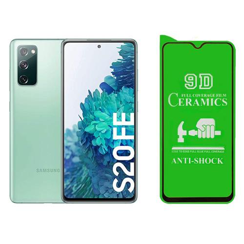 گلس سرامیکی گوشی سامسونگ Galaxy S20 FE مدل تمام صفحه