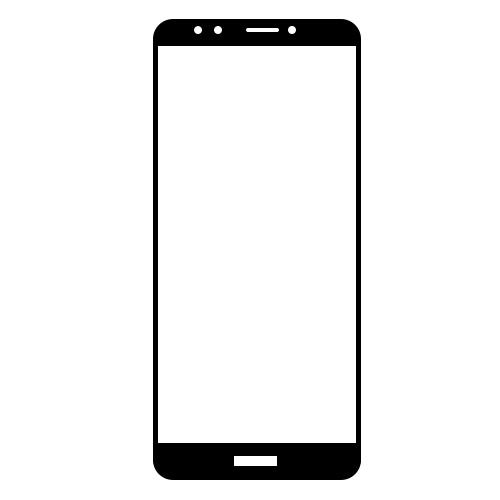 گلس سرامیکی گوشی هوآوی Y7 2018 مدل تمام صفحه