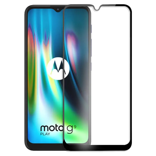 گلس سرامیکی گوشی موتورولا Moto G9 play مدل تمام صفحه