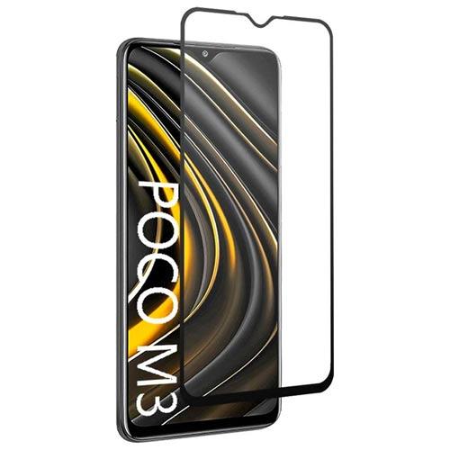 محافظ صفحه شیشه ای تمام صفحه تمام چسب OG شیائومی  Poco M3 Glass
