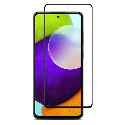 محافظ صفحه شیشه ای تمام صفحه تمام چسب سامسونگ Galaxy A52 9D Glass