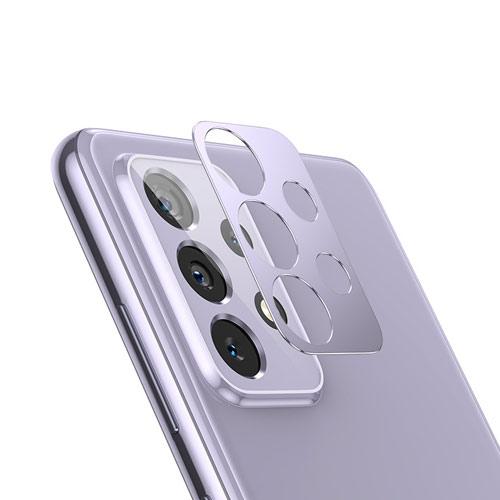 محافظ لنز فلزی دوربین موبایل سامسونگ Galaxy A72 Metal Lens