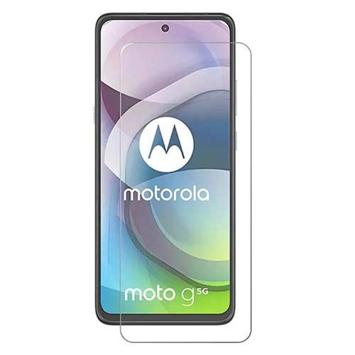 محافظ صفحه نمایش شیشه ای مدل tempered مناسب برای گوشی موتورولا موتو Moto G 5G