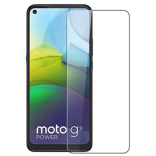 محافظ صفحه نمایش شیشه ای مدل tempered مناسب برای گوشی موتورولا Moto G9 Power
