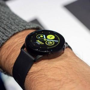 Samsung Galaxy Watch Active2 44mm Leatherband Smart Watch