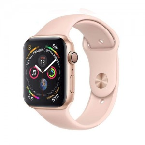 Apple Watch Series 4 44mm Space Gray Aluminum Case With Sport Band